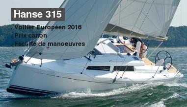 Hanse 315 : Offre exceptionnelle !